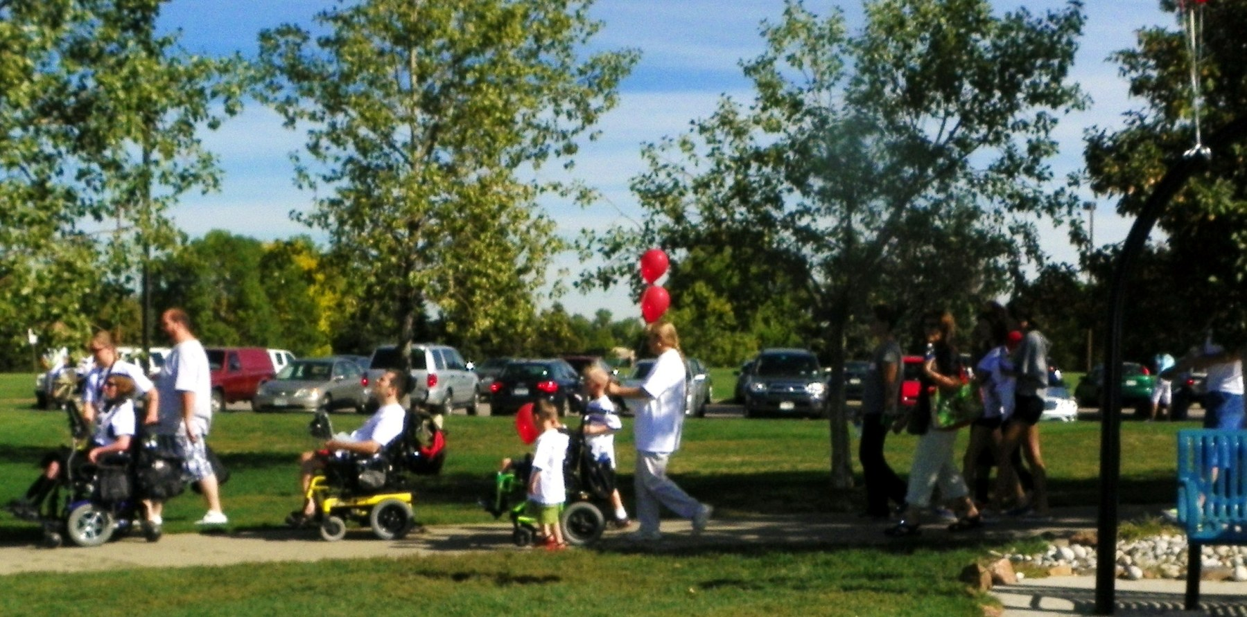 2011 Walk 'n' Roll in Clement Park