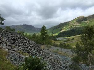Little Langdale Tarn in the distance