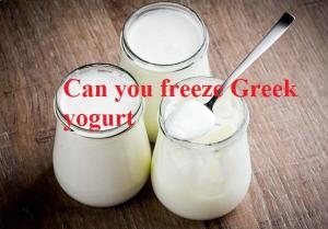 can_you_freeze_greek_yogurt