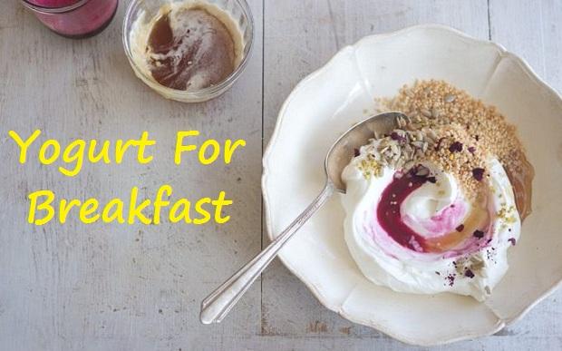 greek yogurt for breakfast