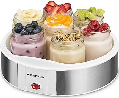 gourmia auto yogurt maker