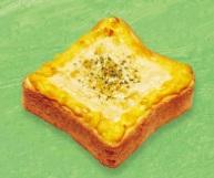 ミスド「トッピング・ホットトースト・コーンとたまごチーズ」2018年5月18日