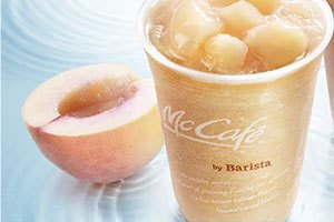 マクドナルド桃のスムージー