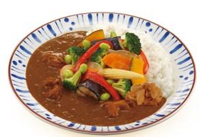すき家のチキンと彩り野菜カレー
