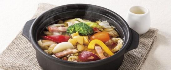 Denny's、スープごはん~栗とごろごろ野菜