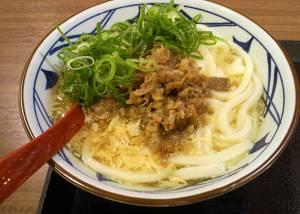 丸亀製麺 肉たまあんかけうどん 感想