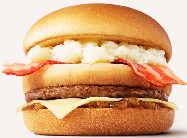マクドナルドの新メニュー北海道ポテトチーズバーガー(仮称)