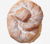 セブンイレブン ツイストドーナツ(メープル風味)