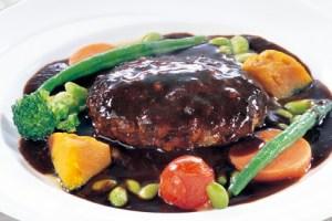 ココスのプレミアムハンバーグステーキ