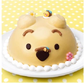 サーティーワンのくまのプーさんアイスケーキ