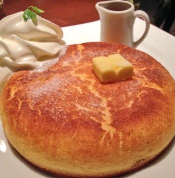 タムタムのホットケーキ(パンケーキ)