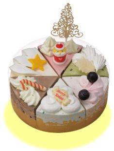サーティーワン、クリスマスケーキ2016クリスマスパレット6