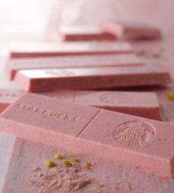 スタバ「チョコレートバー ストロベリー」桜2019フード