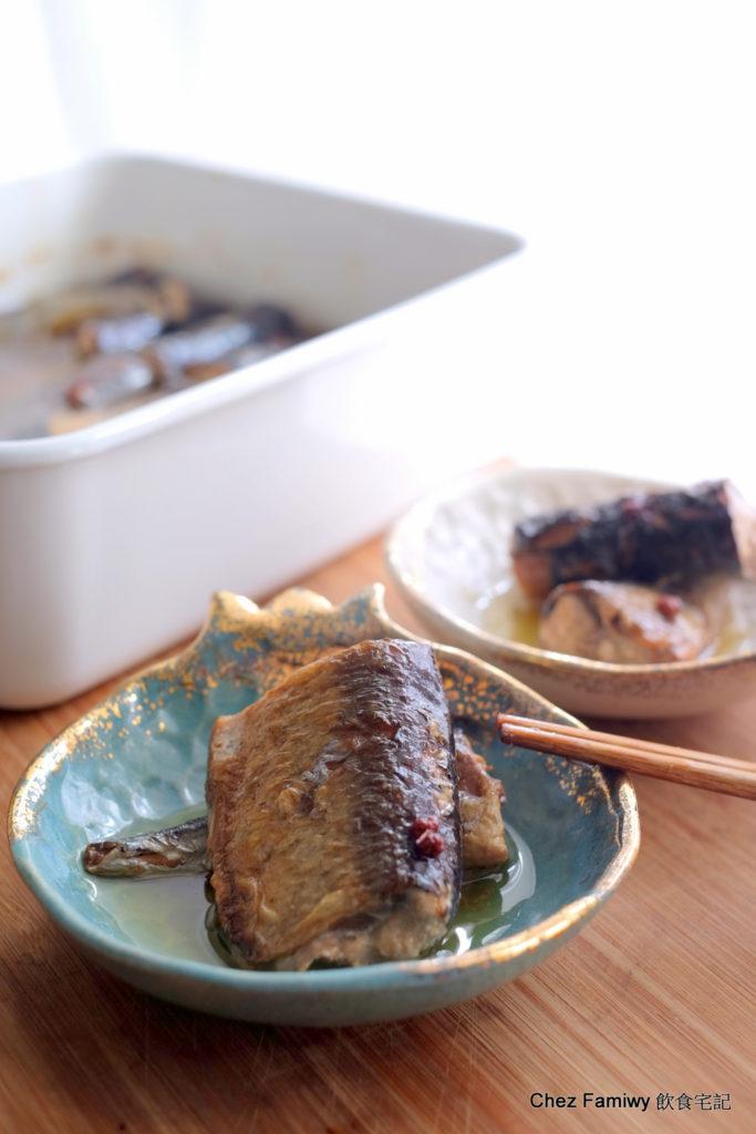 油封秋刀魚