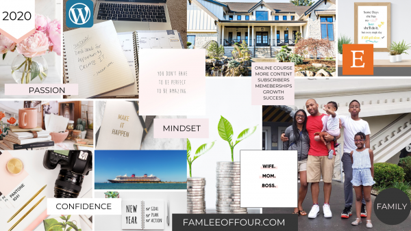 The fastest way to create your digital Vision Board so you can achieve your goals quickly. Also its free to you can download it to you phone, office computer screen and home office laptop! Learn how to make a digital vision board using a free tool Canva!
