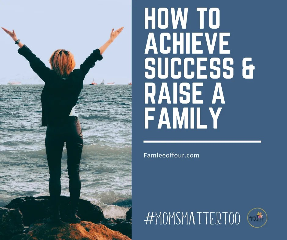 Being a mom doesn't mean give up your dreams. You can be successful and raise a family. Nothing says you have to decide. Instead learn what step to take to ensure you reach success in life. Become a confident, go getter and be happy. #keytosuccess Success in life | Mom goals | Follow your dreams