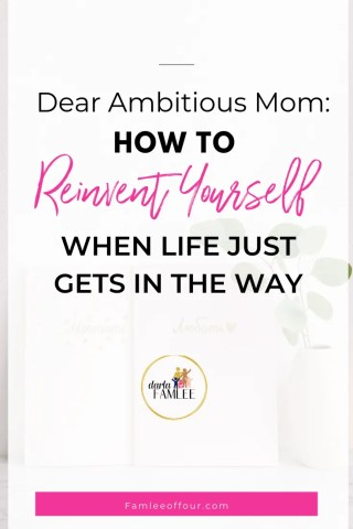 7 Simple Steps for how to change your life & reinvent yourself as a busy mom. It's about learning hacks, tips and self discovery tips to keep you moving forward.