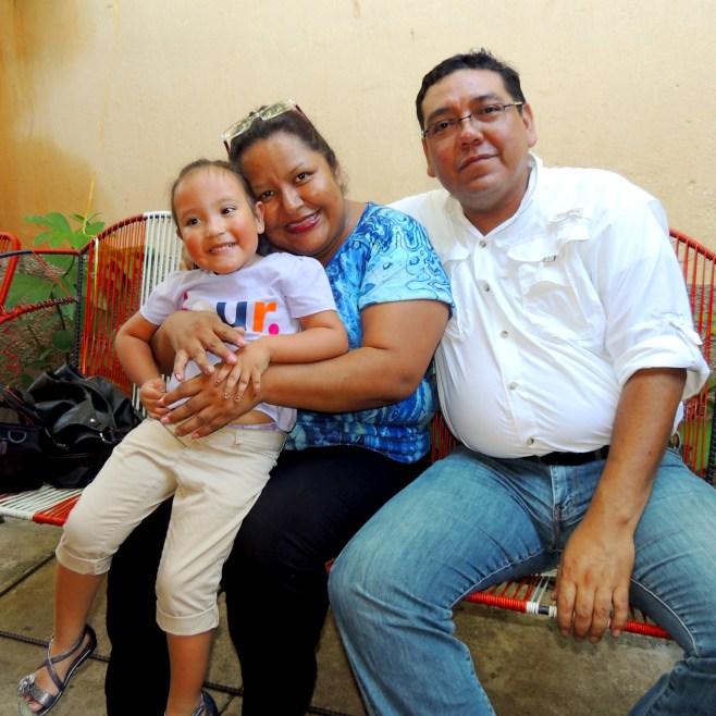 Compartiendo con Ligia y el Tio David
