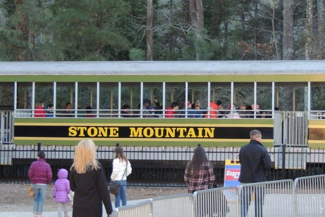 tren stone mountain