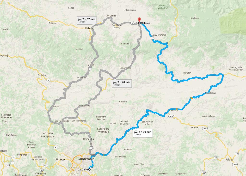 Ruta Salama Guate