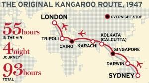 qantas-kangaroo-route