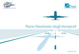 piano aeroporti