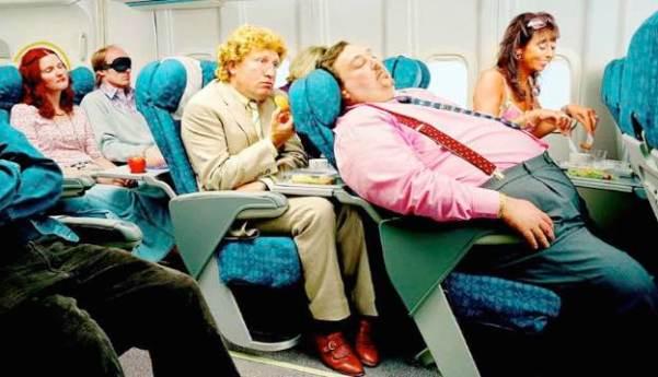 crowded flights