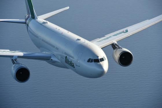 AZ in flight