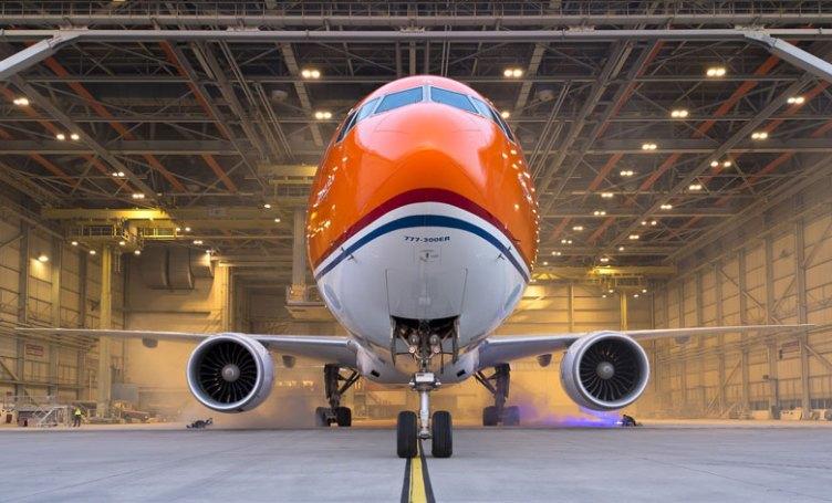 KLM Boeing 777-300ER nella livrea promozionale