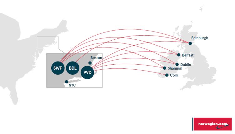 le nuove destinazioni di Norwegian Air Shuttle verso gli Usa: lontani dalle rotte trafficate, e pratiche