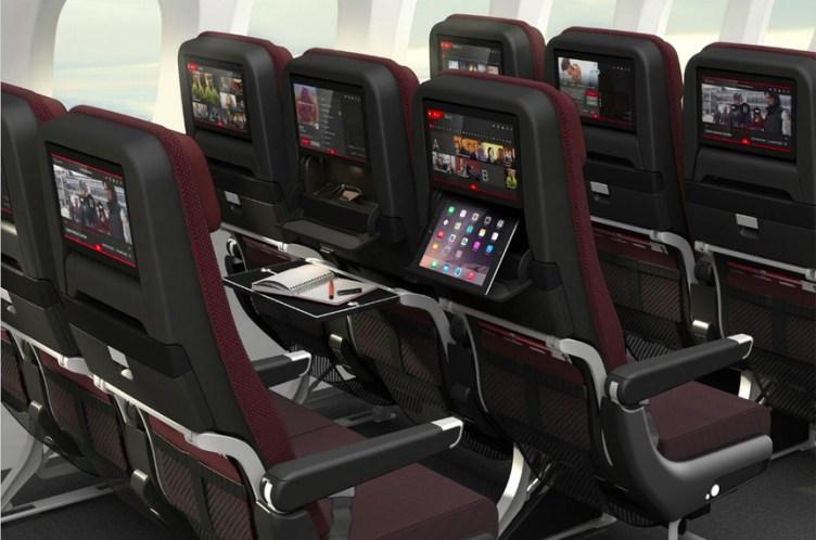 Qantas Boeing Dreamliner 787-900, nuovi sedili Recaro