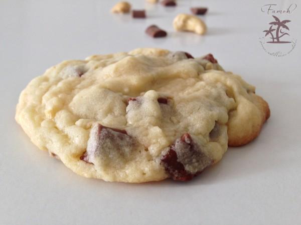 cookies aux noix de pécan et chunks chocolat au lait
