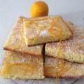 Plaque de moelleux à l'orange
