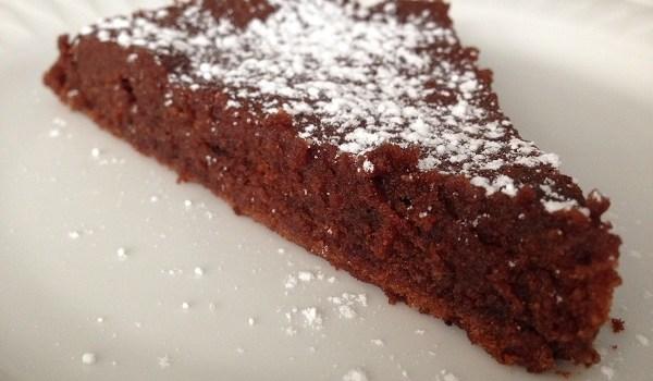 Gâteau chocolat et sans gluten
