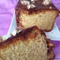 Cake au nougat et chocolat