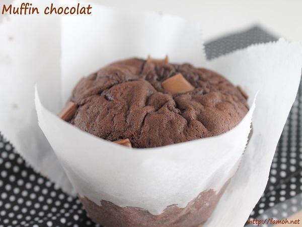Muffin chocolat.