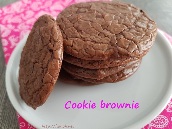 Cookie brownie