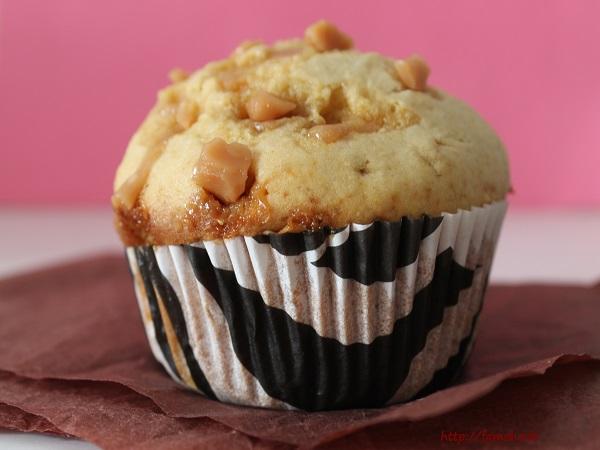 muffin aux pépites de caramel