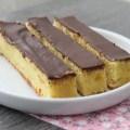 Gâteau clémentine et chocolat façon stick