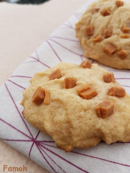 cookies pépites de caramel