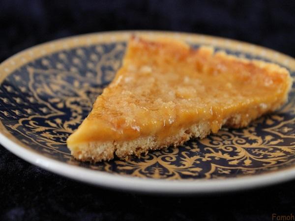 tarte fine façon crème brûlée