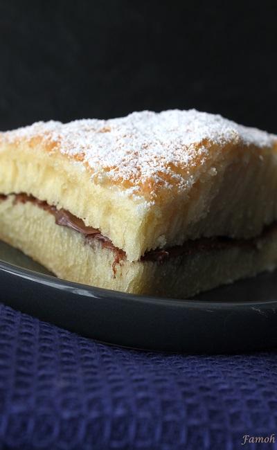 gâteau sans gluten fourré chocolat