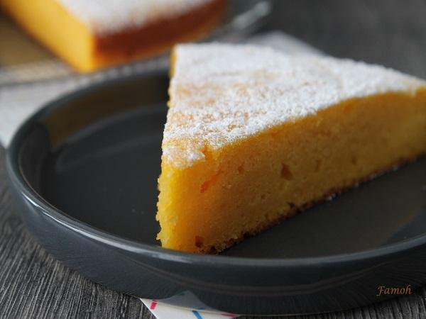 gâteau au potiron moelleux