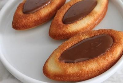 biscuit barquette chocolat