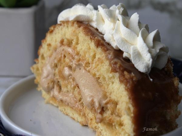 gâteau roulé spéculoos