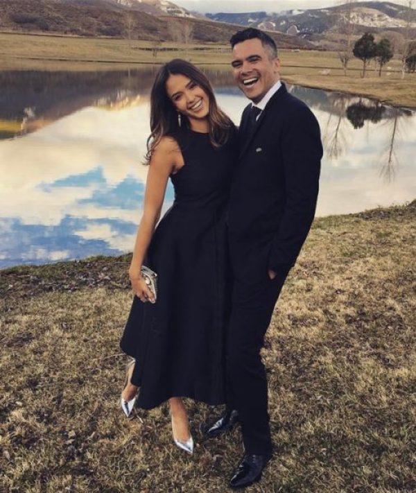 Cash Warren Film Producer with wife Jessica