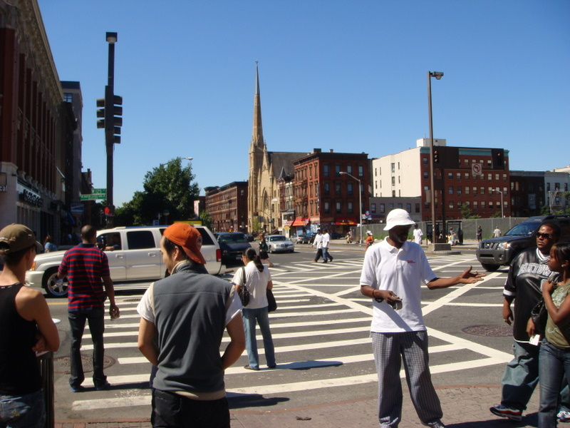 125th and Lenox looking south.  The heart ofHarlem