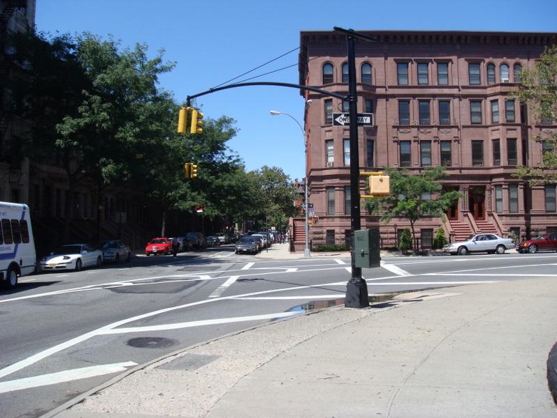 Neighborhood near Marcus Garvey Park (124th St, between 5th Avenue and LenoxAve)