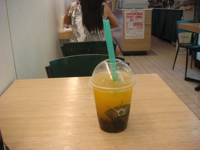 Passion Fruit Bubble Tea