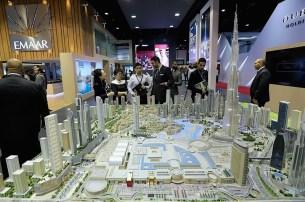 City Model Dubai detail of downtown